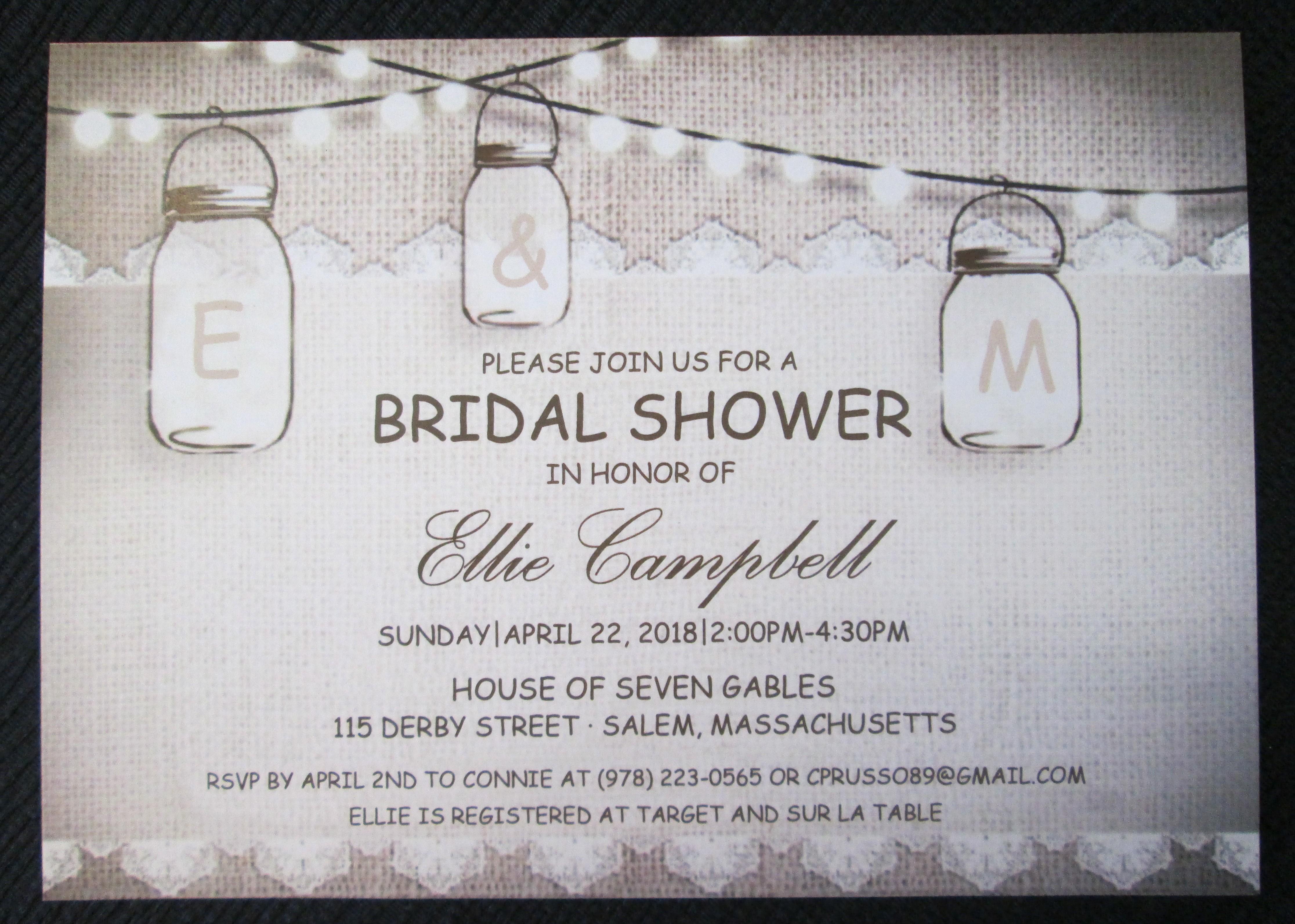 Baby & Bridal Shower Invitations   Emerald Invitations